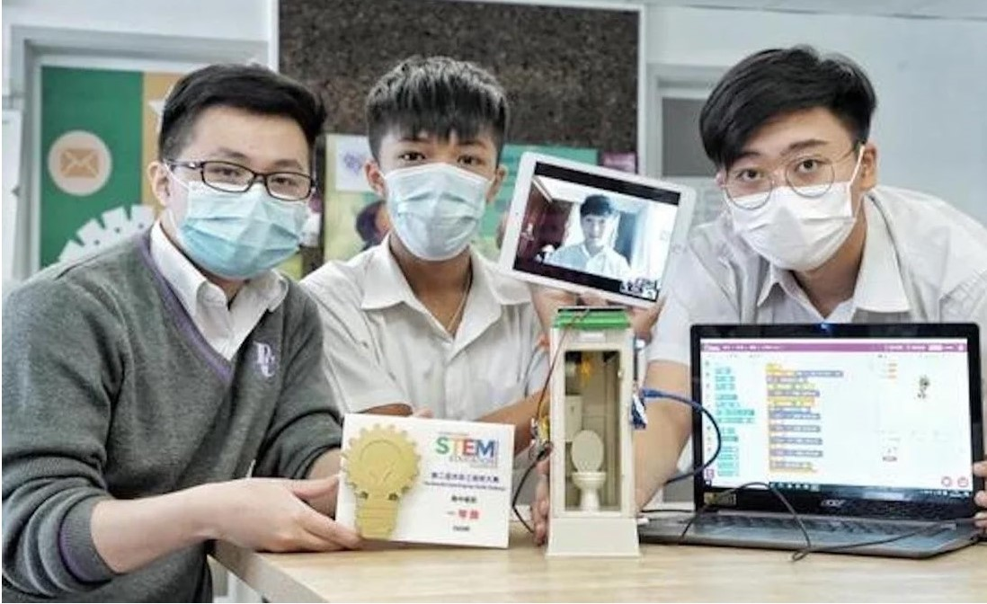 [South China Morning Post] CLAP-TECH Pathway Students Won Award for Redesigning a Public Hygiene Facility amid the Pandemic